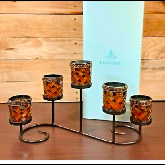 PartyLite Global Fusion Multi Votive Candle Holder
